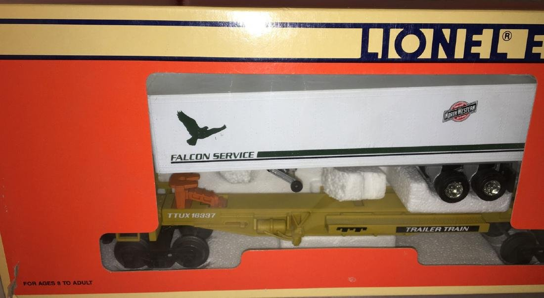 Lionel CNW O Gauge TTUX Car Set - 2