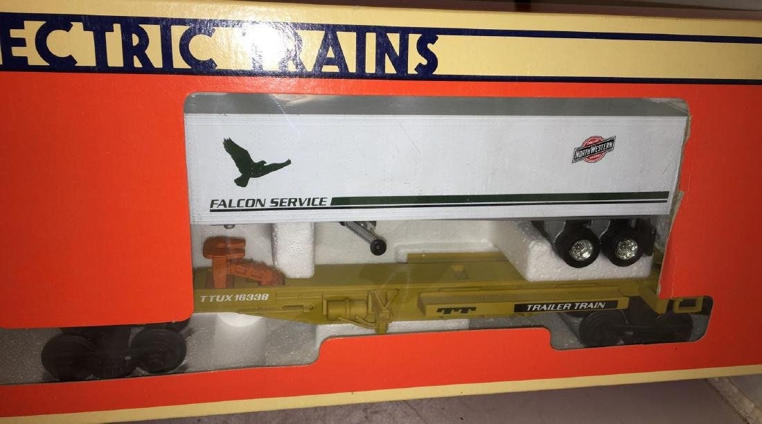 Lionel CNW O Gauge TTUX Car Set - 3
