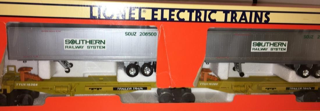 Lionel Southern O Gauge TTUX Car Set
