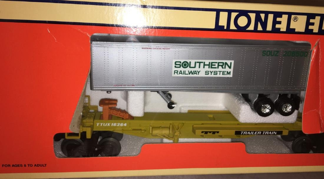 Lionel Southern O Gauge TTUX Car Set - 2