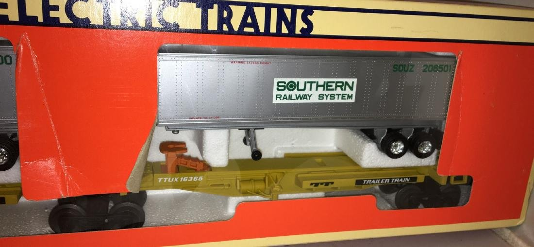 Lionel Southern O Gauge TTUX Car Set - 3
