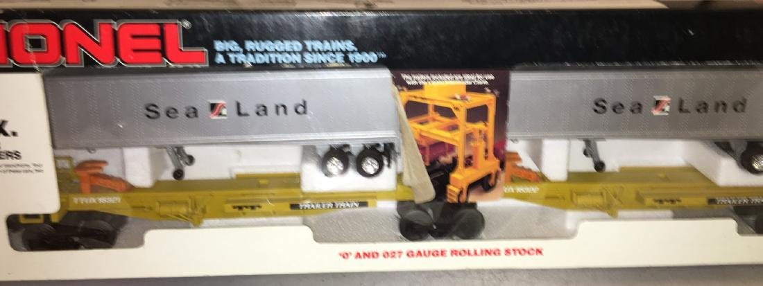 Lionel Sealand O Gauge  TTUX Car Set