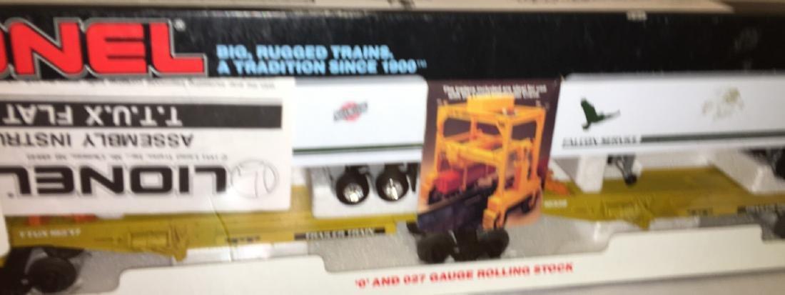 Lionel CNW O Gauge TTUX Car Set