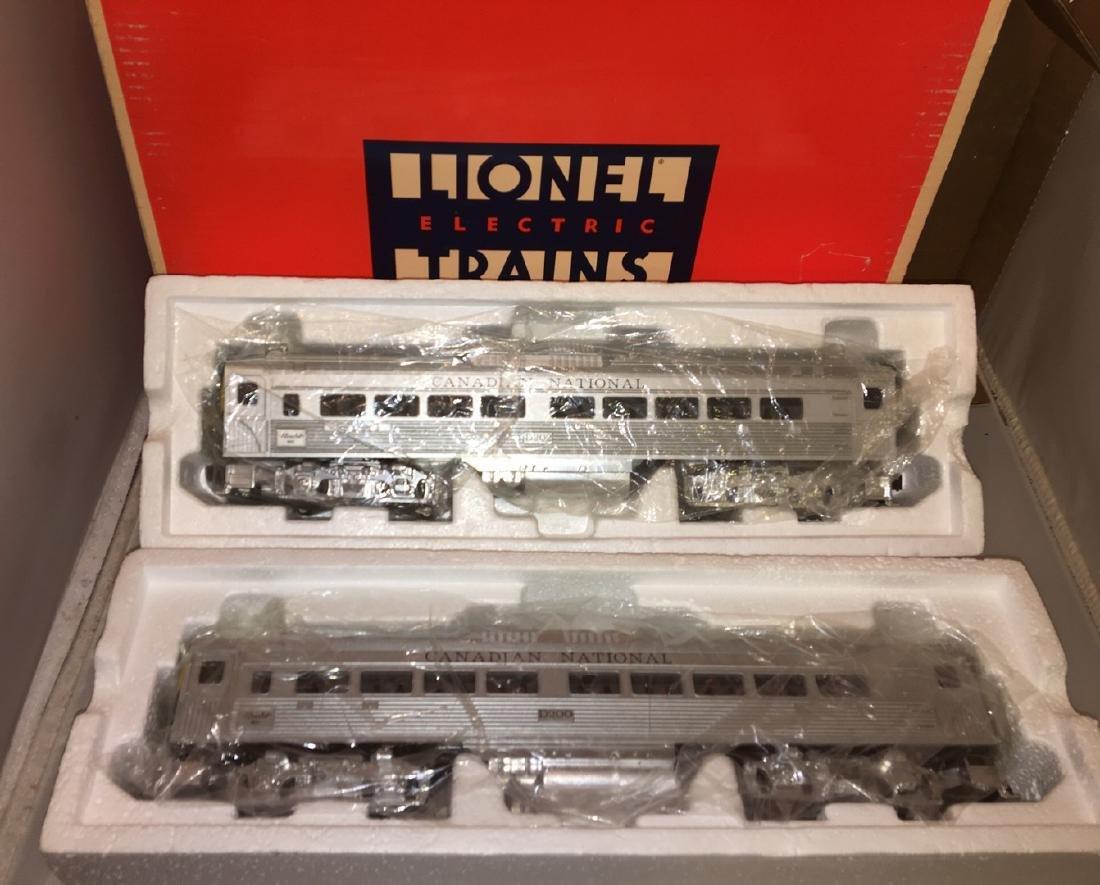 Lionel Canadian national O Gauge Rail Car Set