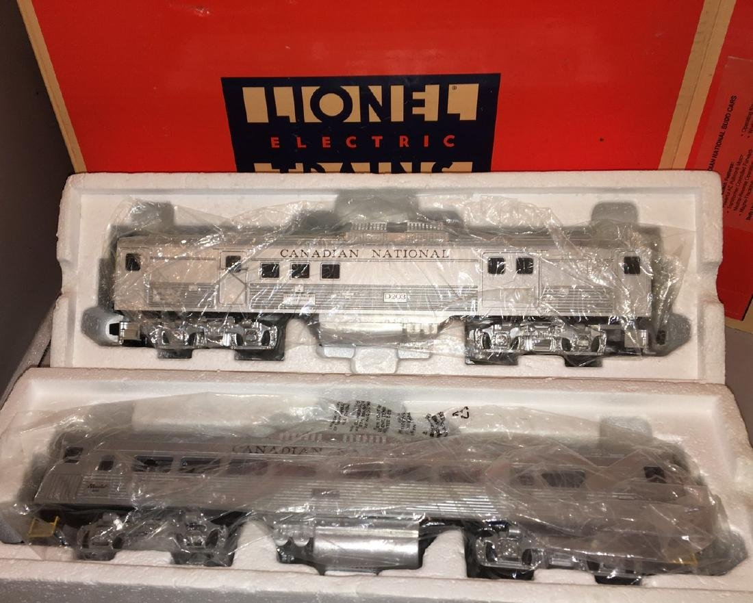 Lionel Canadian National O Gauge Budd Car Set