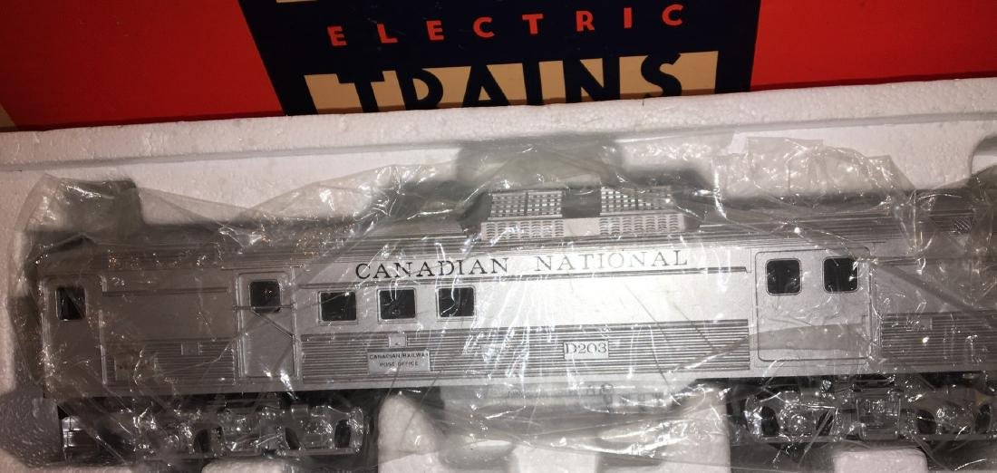 Lionel Canadian National O Gauge Budd Car Set - 3