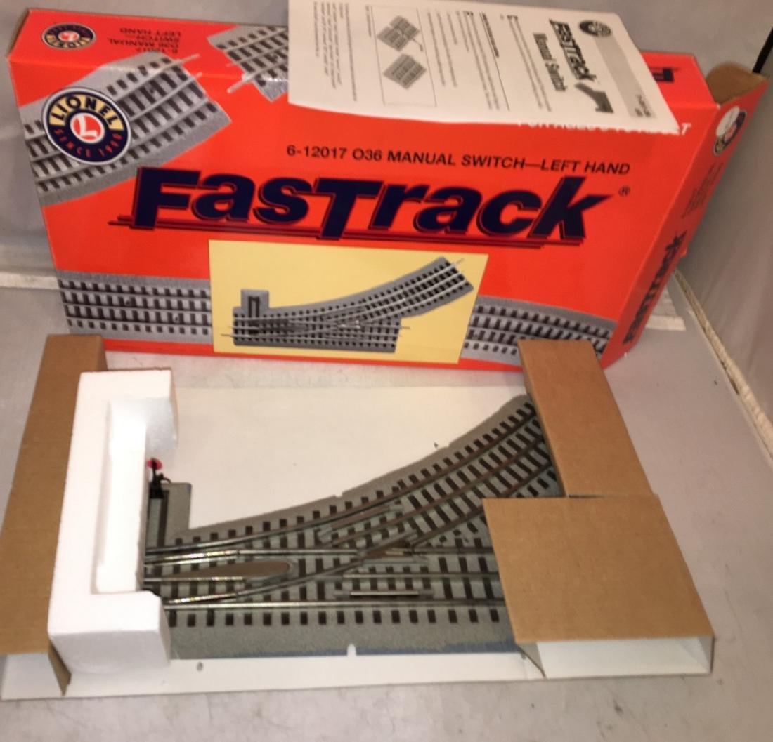 Lionel 12017 Fastrack O Gauge Left Hand Switch