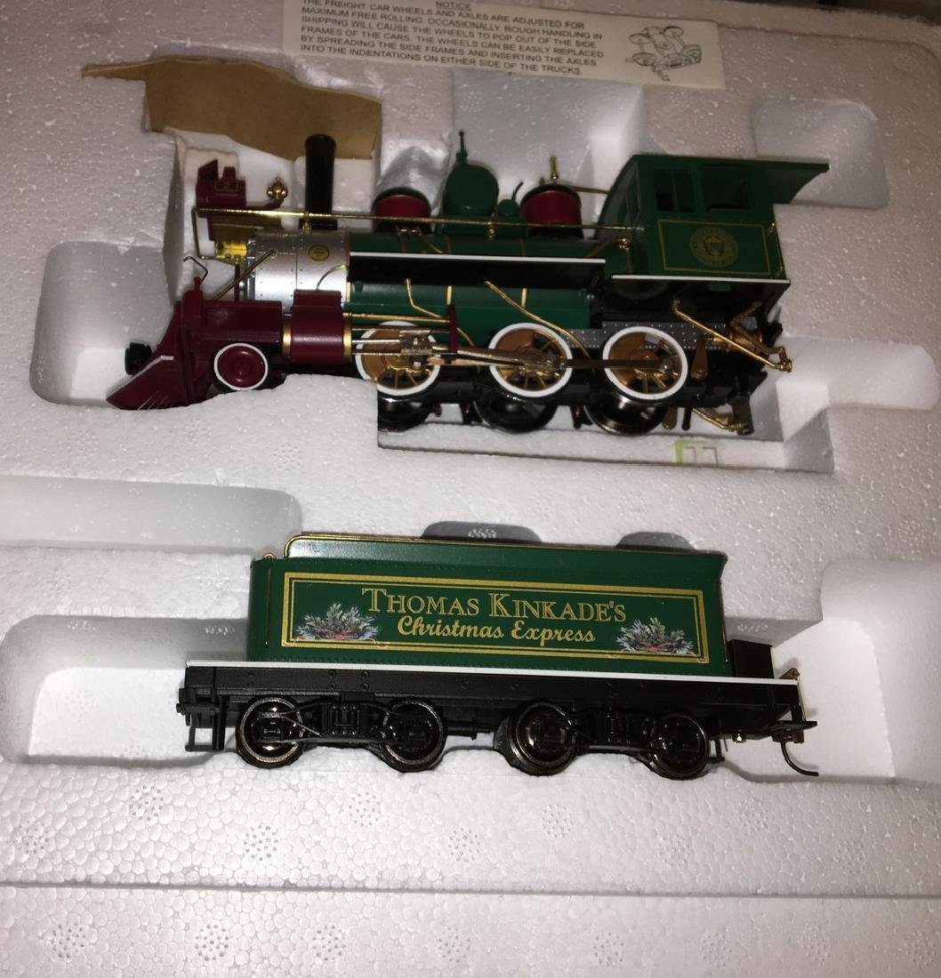 Kinkade Christmas ON30 Steam Engine