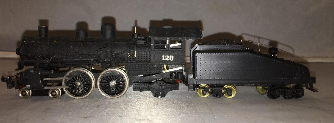 Diecast and Brass HO Scale Atlantic Steam Engine