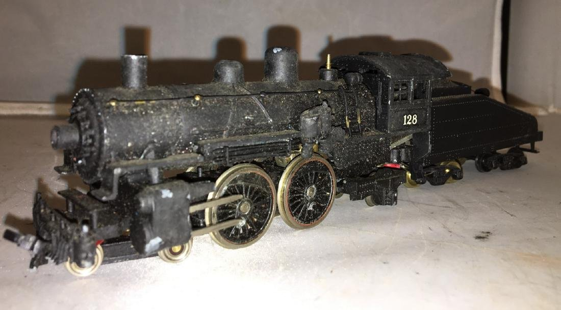 Diecast and Brass HO Scale Atlantic Steam Engine - 2