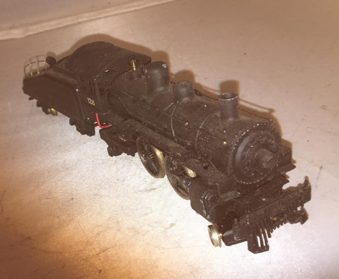 Diecast and Brass HO Scale Atlantic Steam Engine - 3