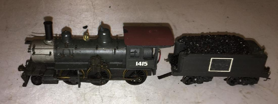 Diecast and Brass HO Scale 2-6-0 Steam Engine