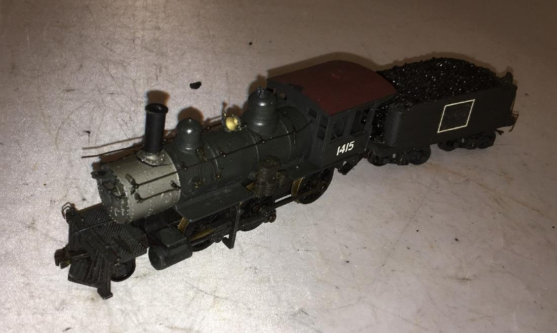 Diecast and Brass HO Scale 2-6-0 Steam Engine - 2