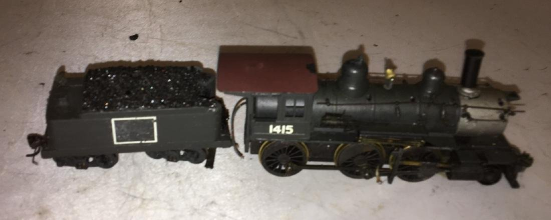 Diecast and Brass HO Scale 2-6-0 Steam Engine - 3