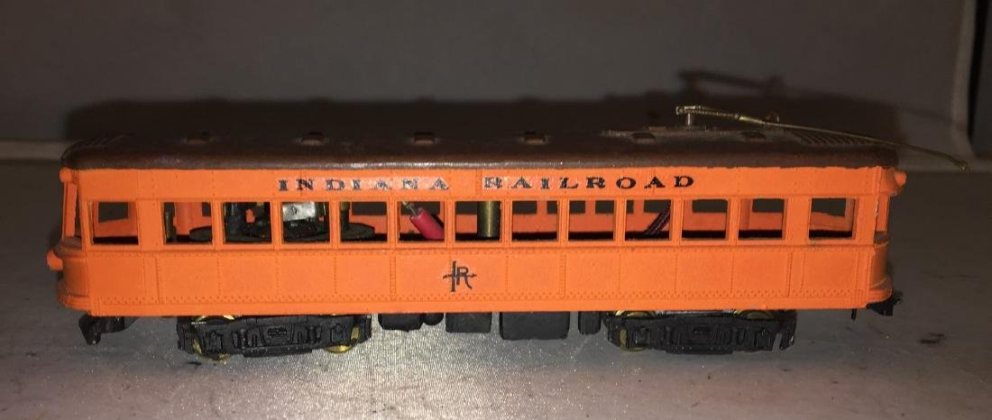 Indiana Railroad HO Scale Interurban Rail Car