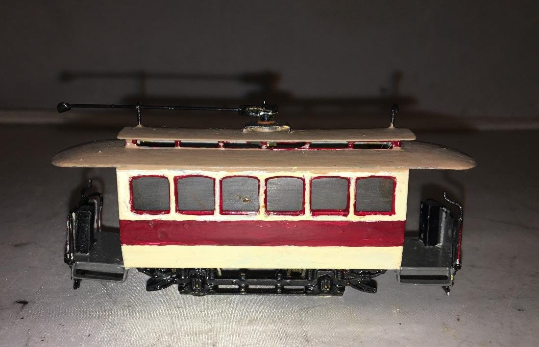 Brass HO Scale Trolley