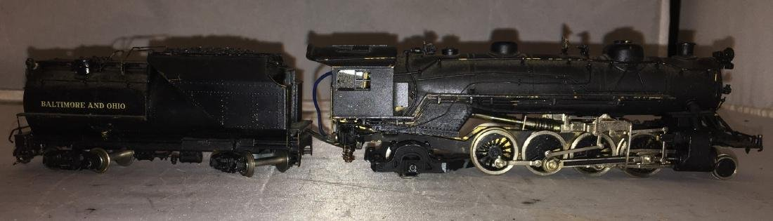 Brass B&O HO Scale Mikado Steam Engine