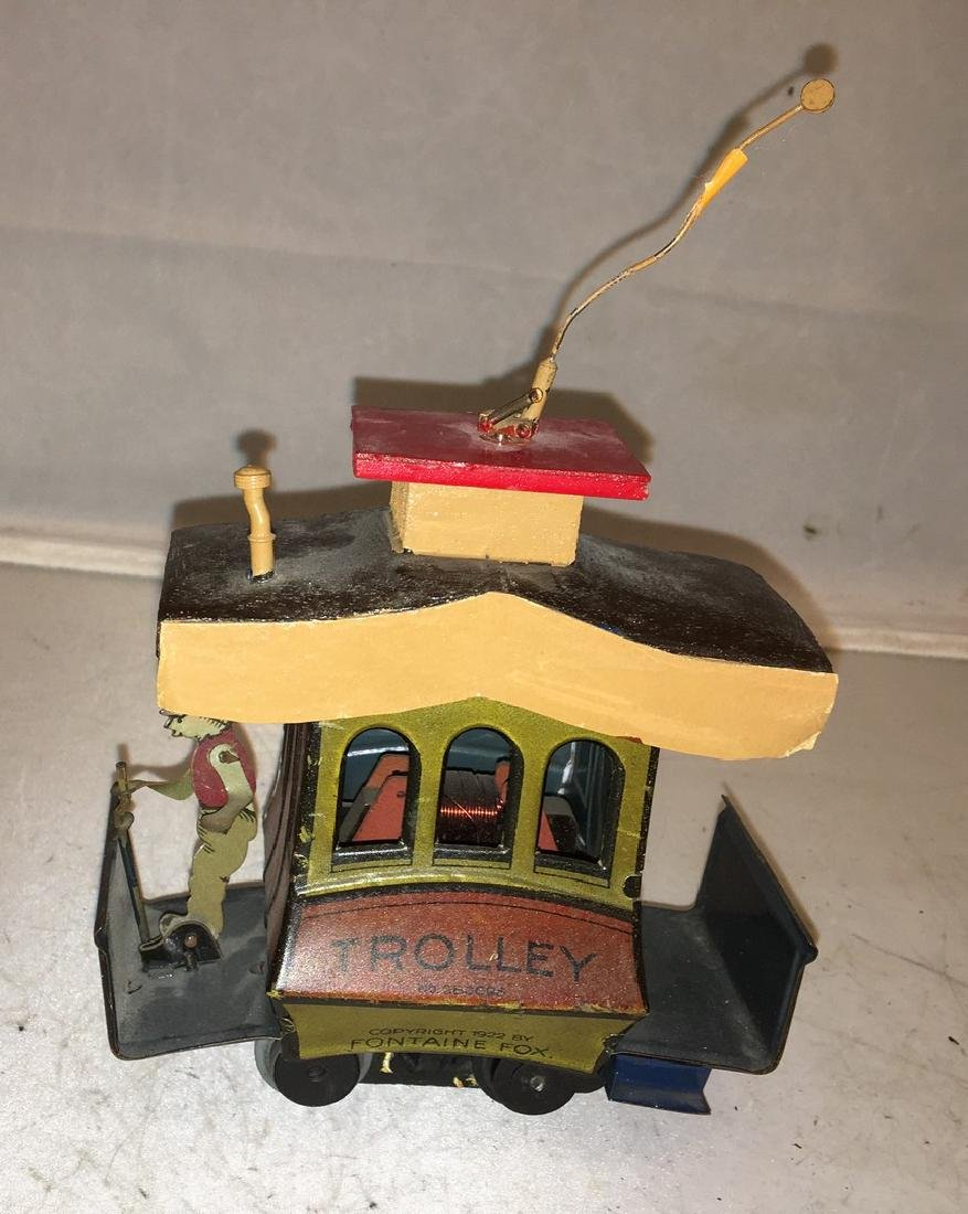 Fontaine Fox O Gauge Toonerville Trolley - 3