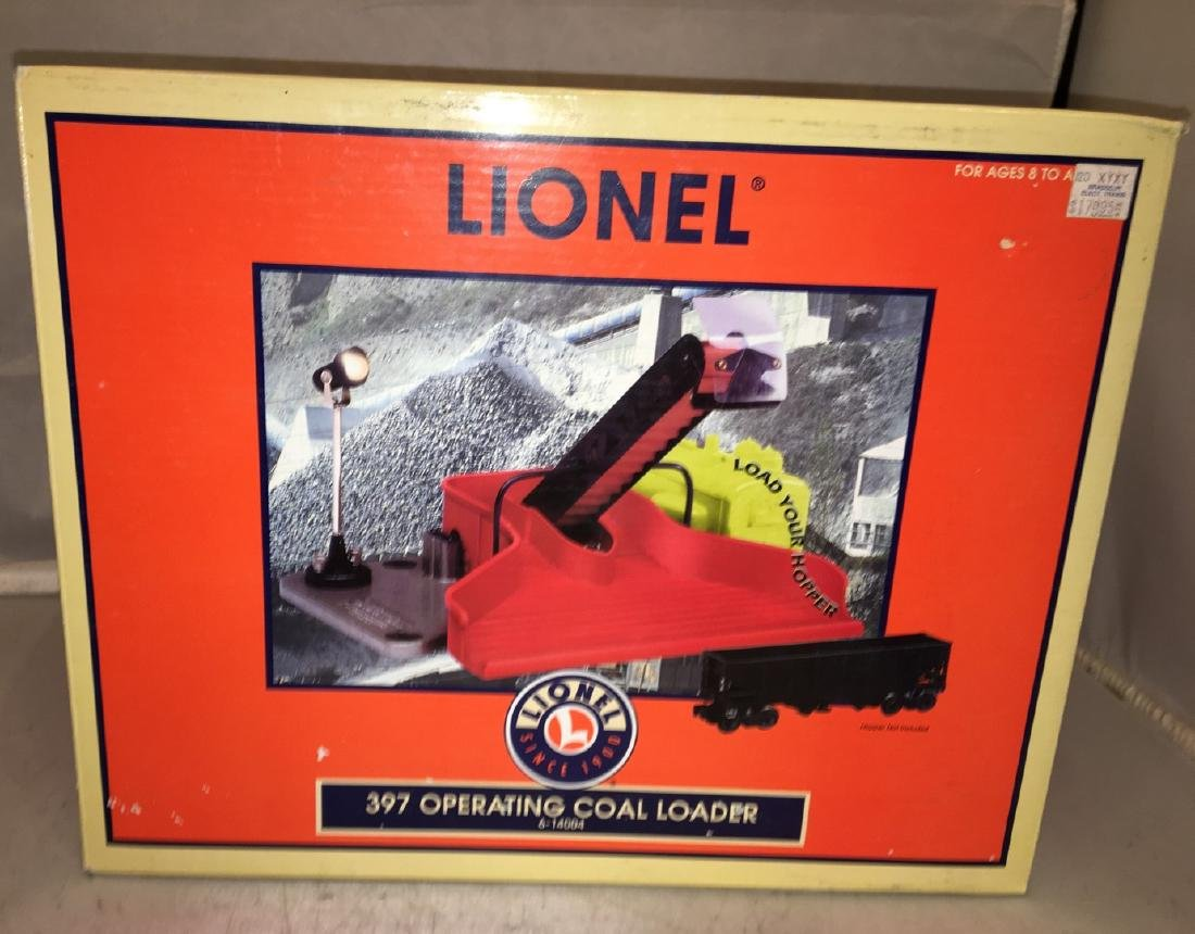 Lionel O Gauge Operating Coal Loader