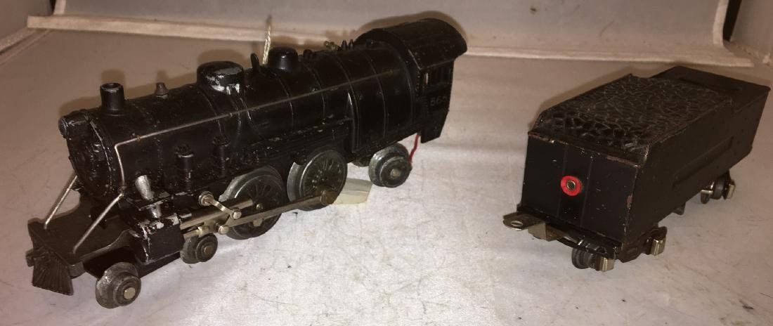American Flyer Prewar O Gauge Atlantic Steam Engine