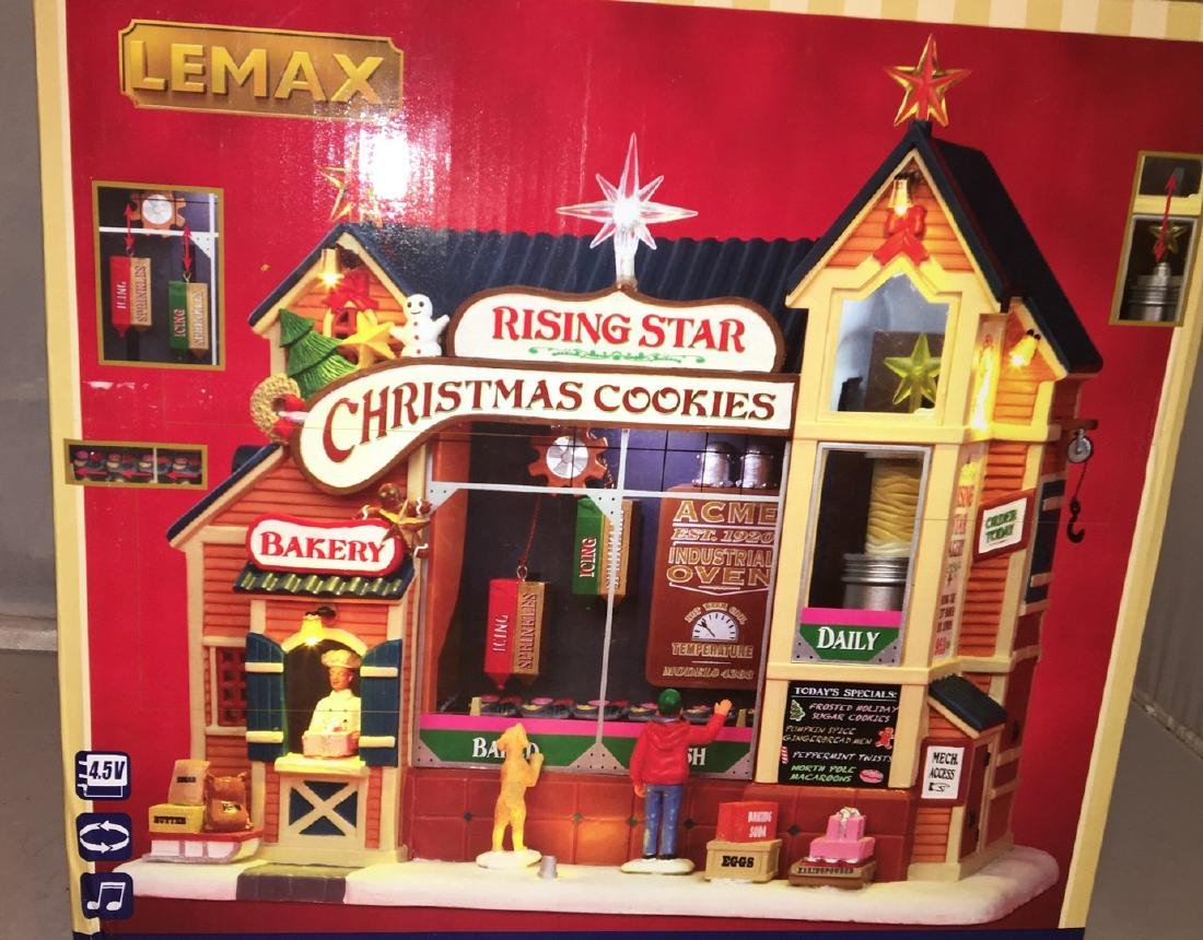 Lemax O Gauge Rising Star Bakery