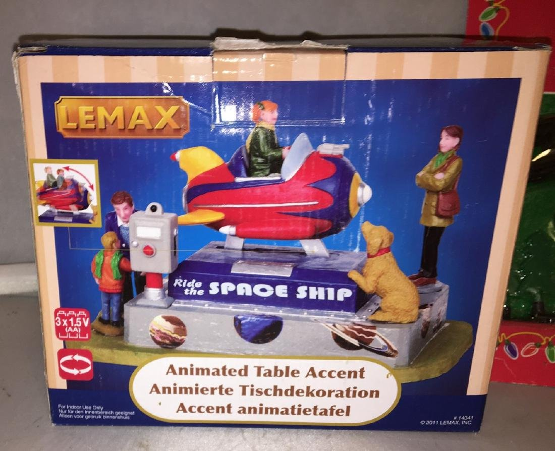 Lemax O Gauge Sproe Ship Plus - 2