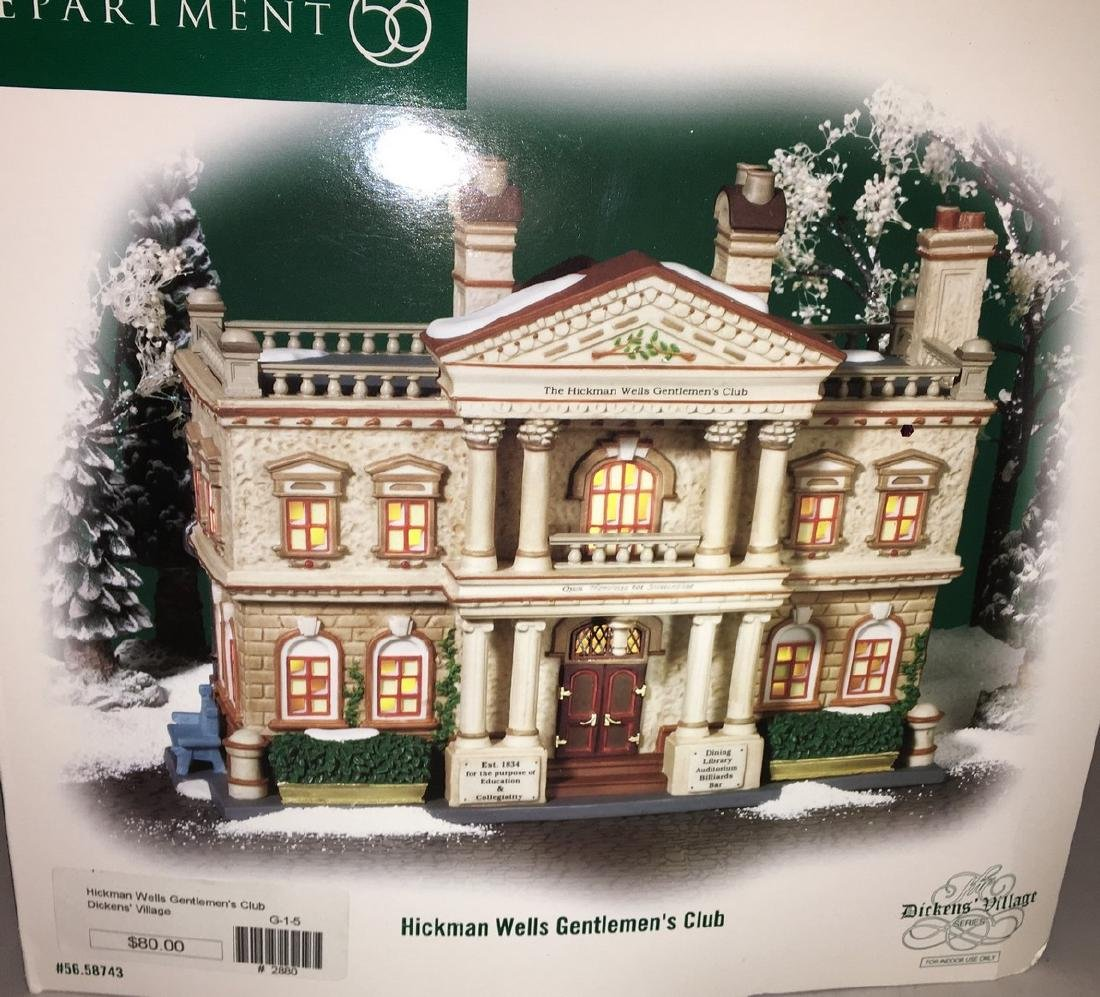 Dept 56 O Gauge Hickman Wells Club