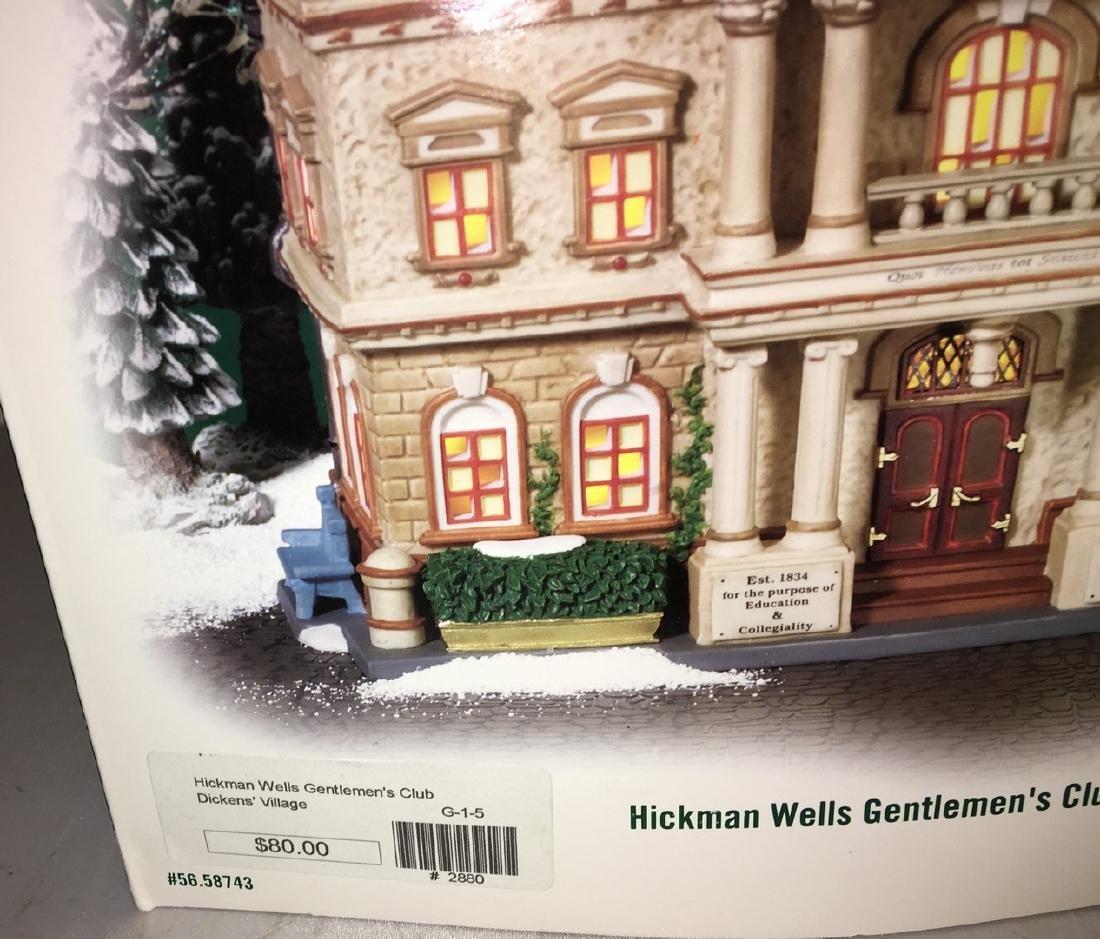 Dept 56 O Gauge Hickman Wells Club - 3
