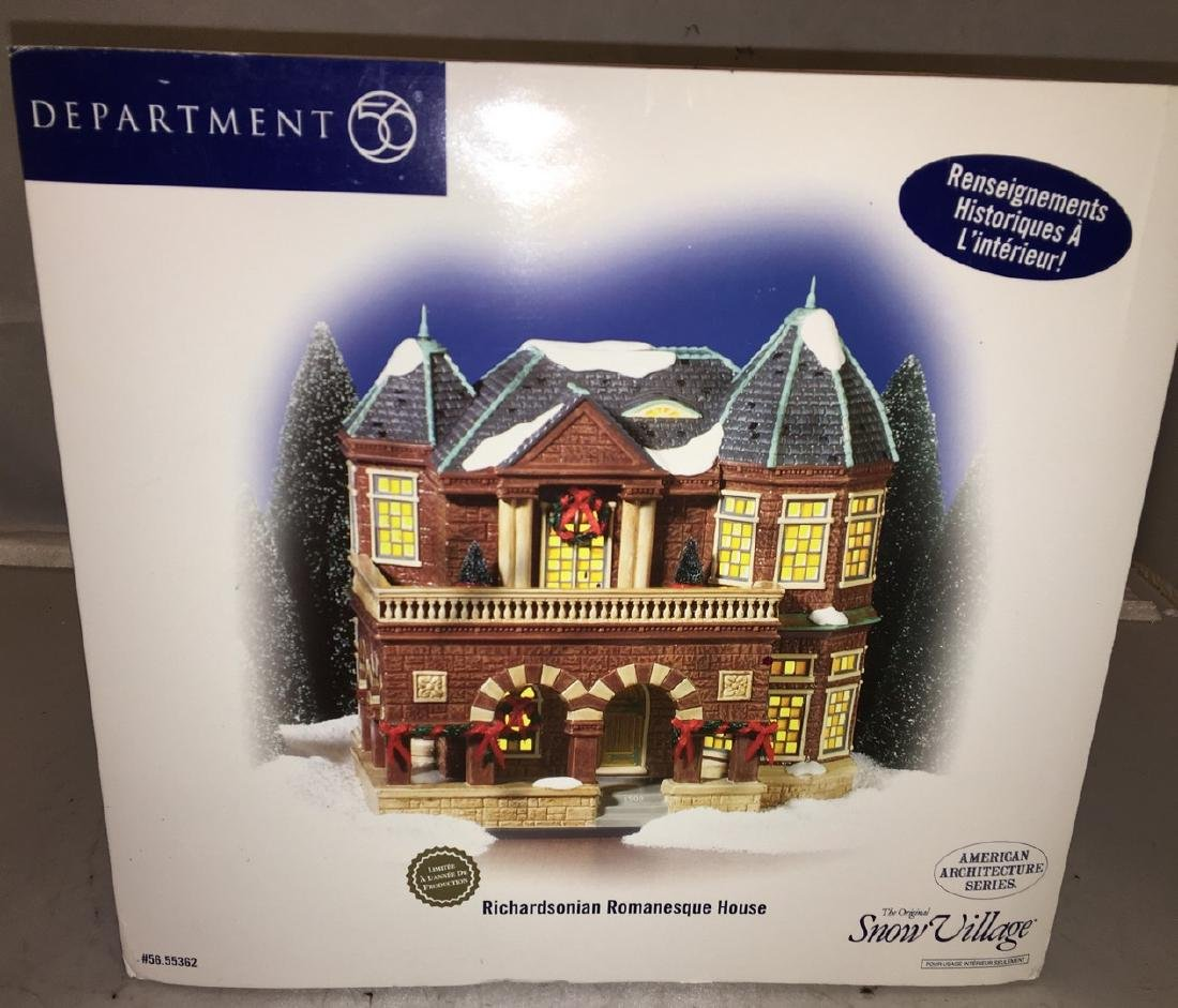 Dept 56 O Gauge Richardsonian Romanesque House
