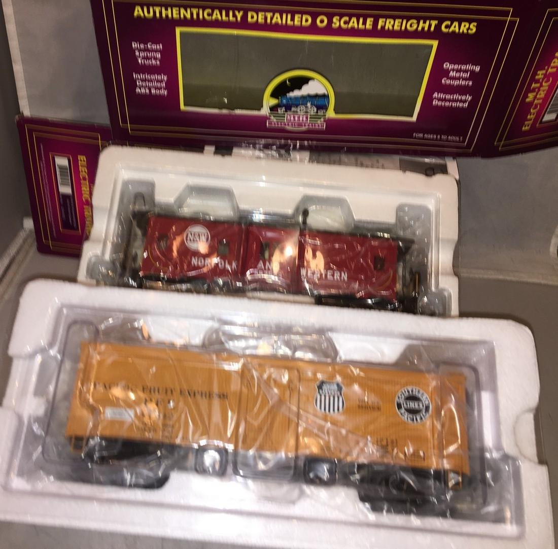 MTH Premier O Gauge Freight Cars