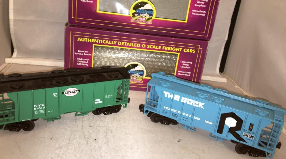 MTH Premier O Gauge Covered hopper Cars