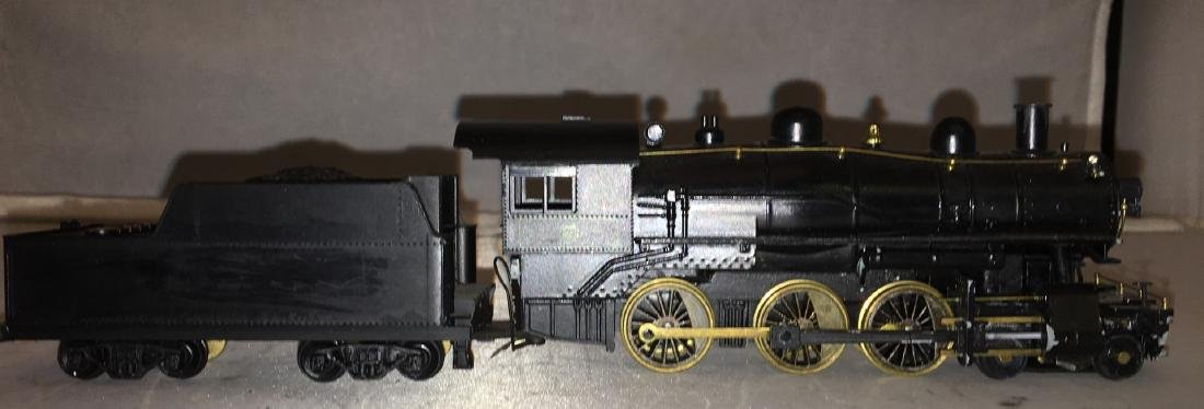Brass and diecast HO Scale 4-6-0 Steam Engine