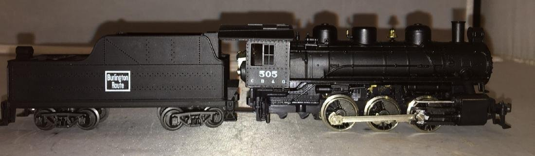 Rivarossi Burlington HO Scale Steam Engine
