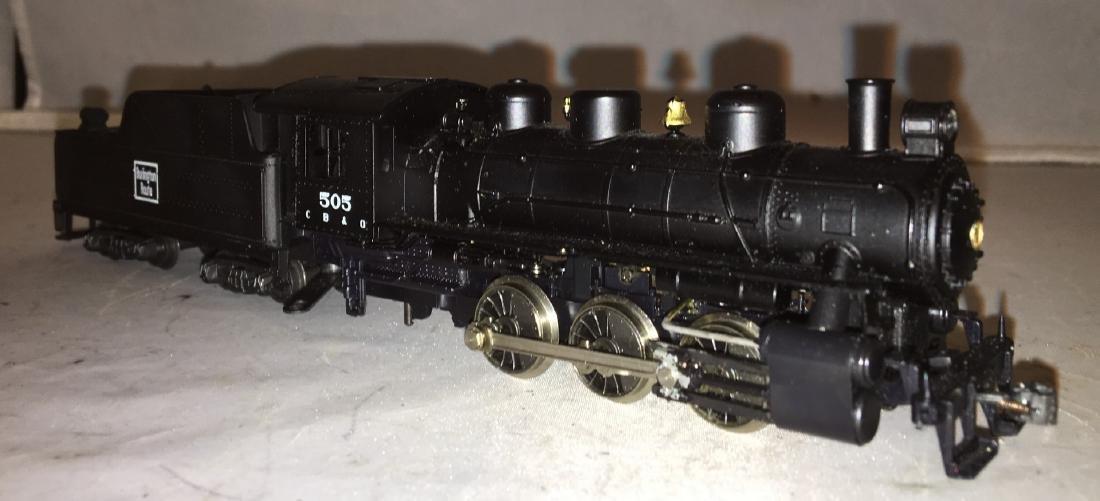Rivarossi Burlington HO Scale Steam Engine - 2