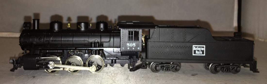 Rivarossi Burlington HO Scale Steam Engine - 3