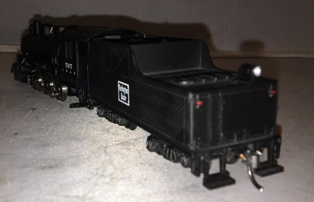 Rivarossi Burlington HO Scale Steam Engine - 4
