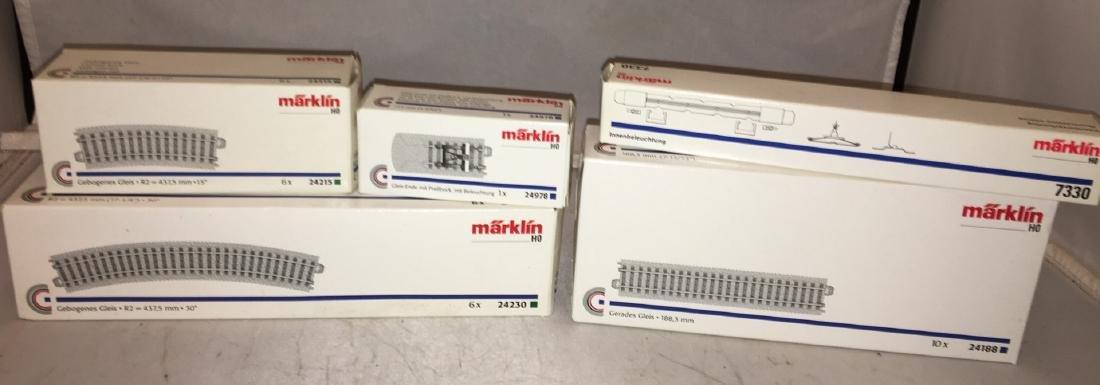 Marklin HO Scale Track Assortment