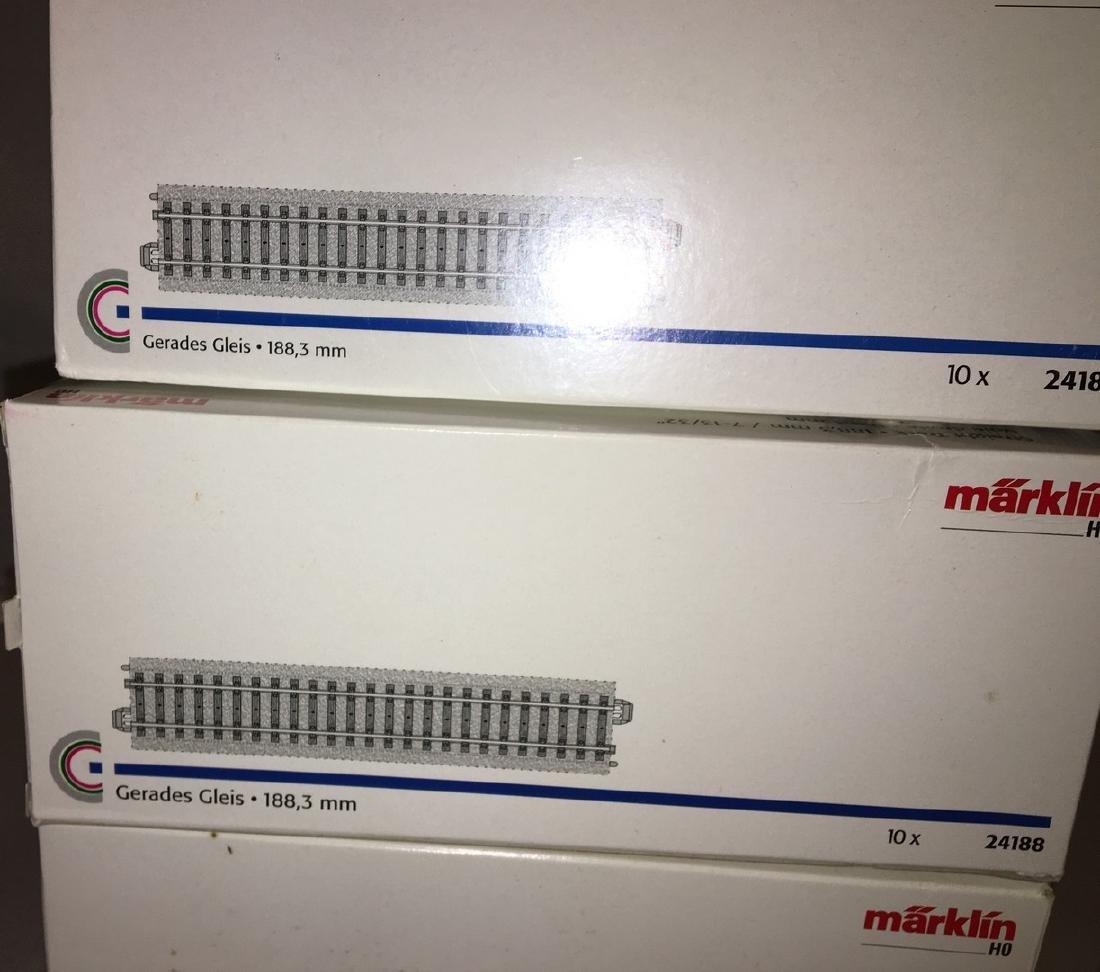 Marklin HO Scale Straight Tracks - 2