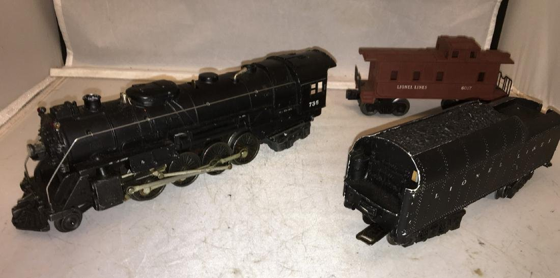 Lionel Postwar 736 O Gauge Berkshire Steam Engine Plus