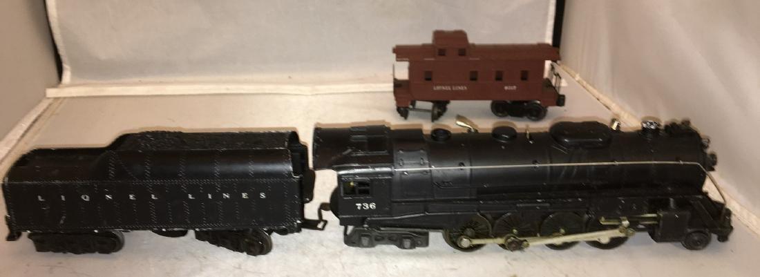 Lionel Postwar 736 O Gauge Berkshire Steam Engine Plus - 4