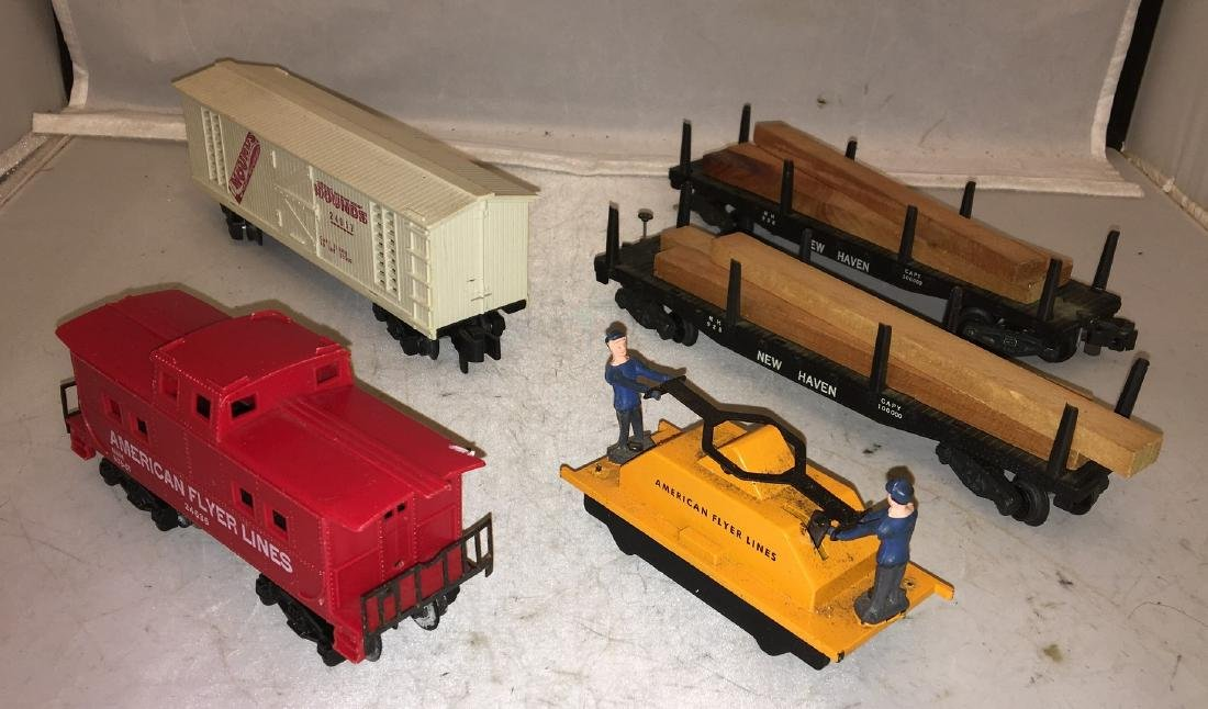 American Flyer Postwar S Gauge Train cars