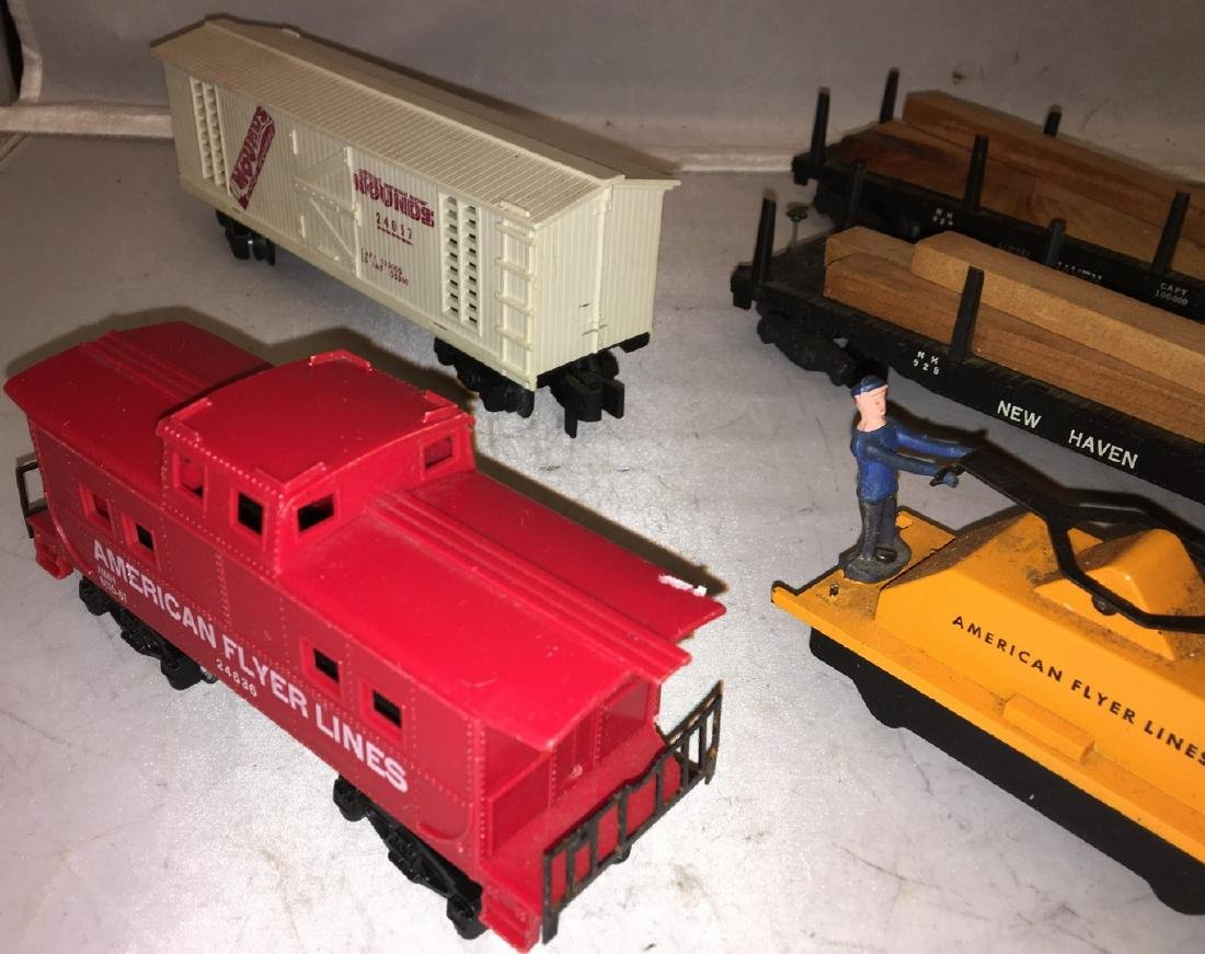 American Flyer Postwar S Gauge Train cars - 2