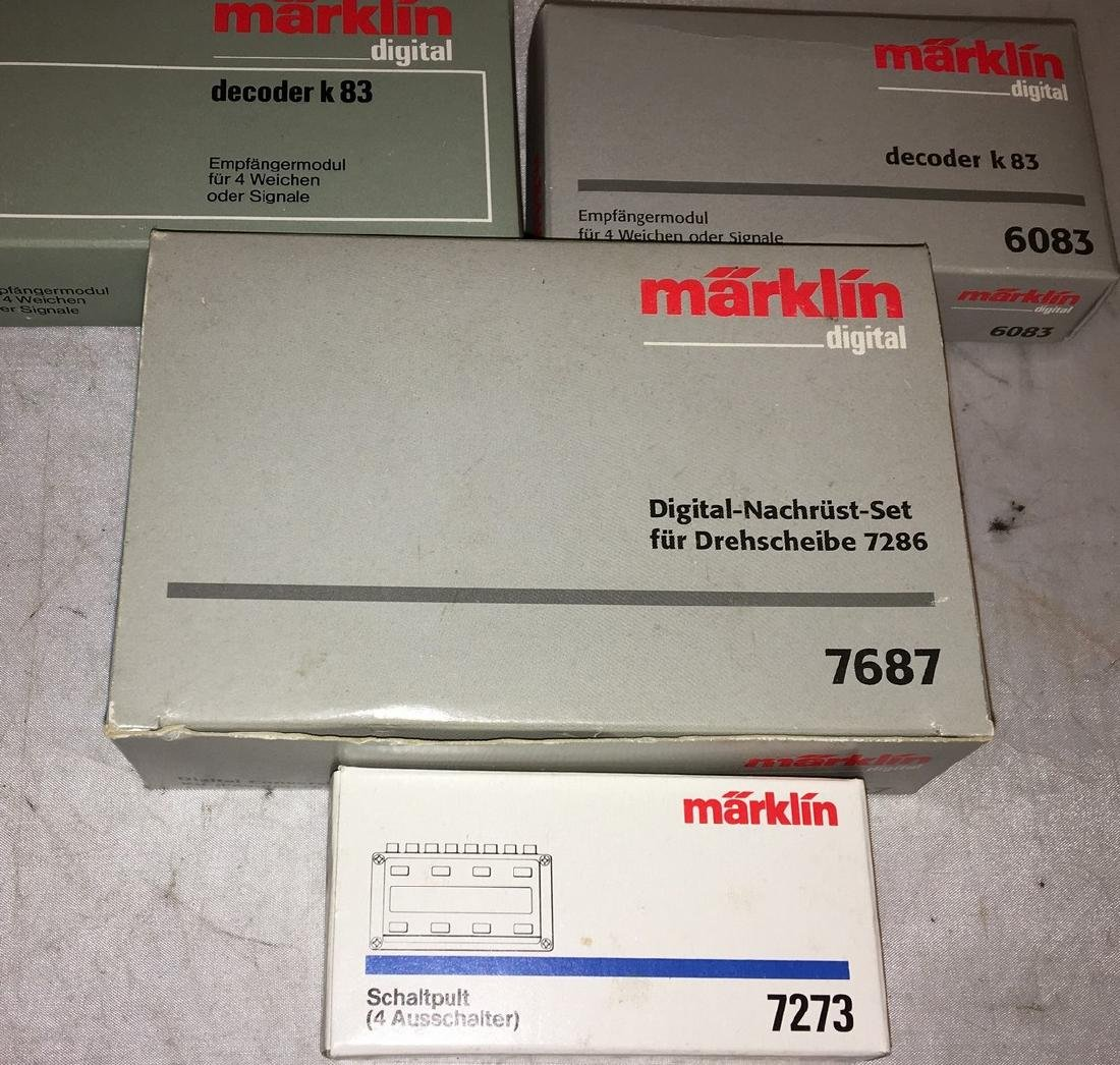 Marklin Digital Equipment Assortment