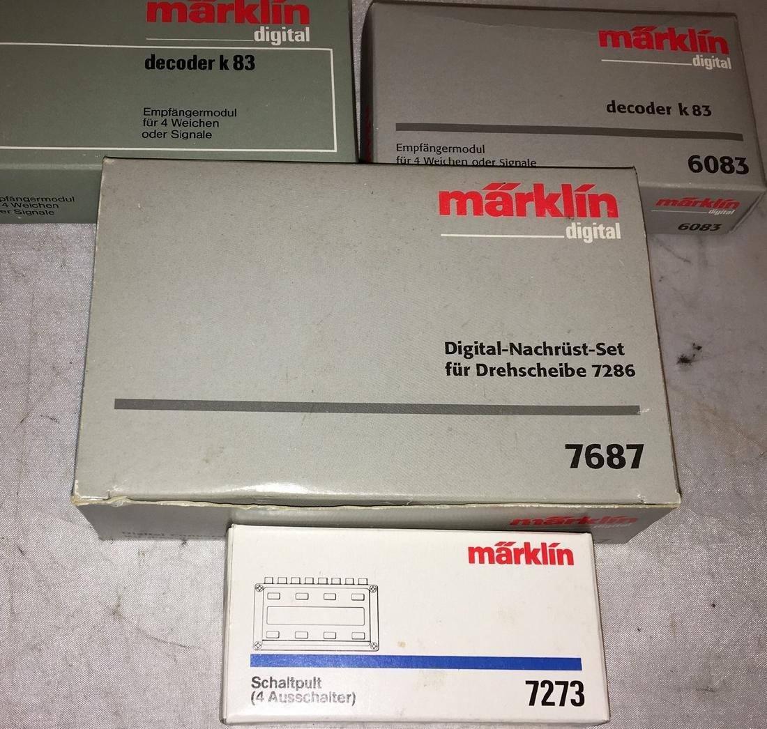 Marklin Digital Equipment Assortment