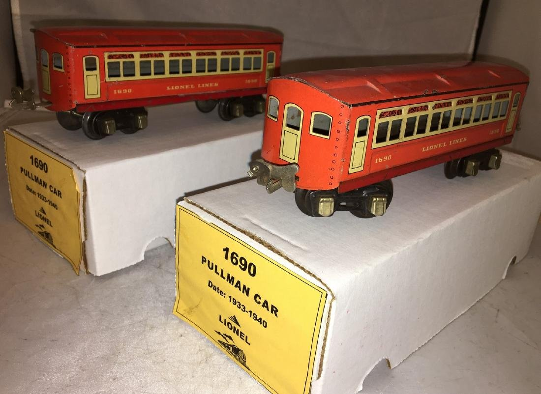 Lionel Prewar O Gauge Passenger Cars