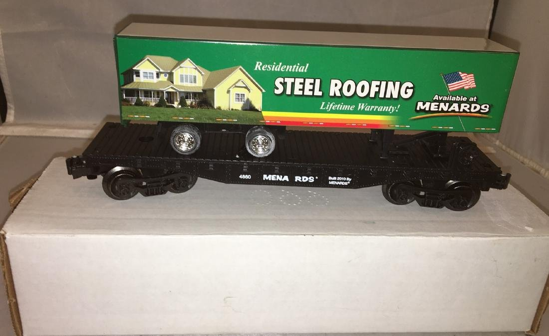 Menards O Gauge Piggyback Flat Car