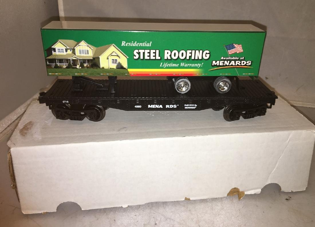 Menards O Gauge Piggyback Flat Car - 2
