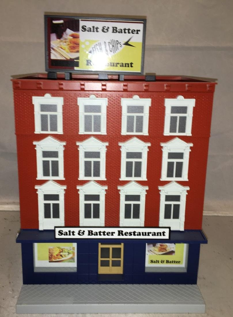 MTH O Gauge Salt and Balter Restaurant