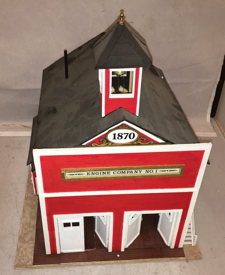 Chapman Creations O Gauge Fire house