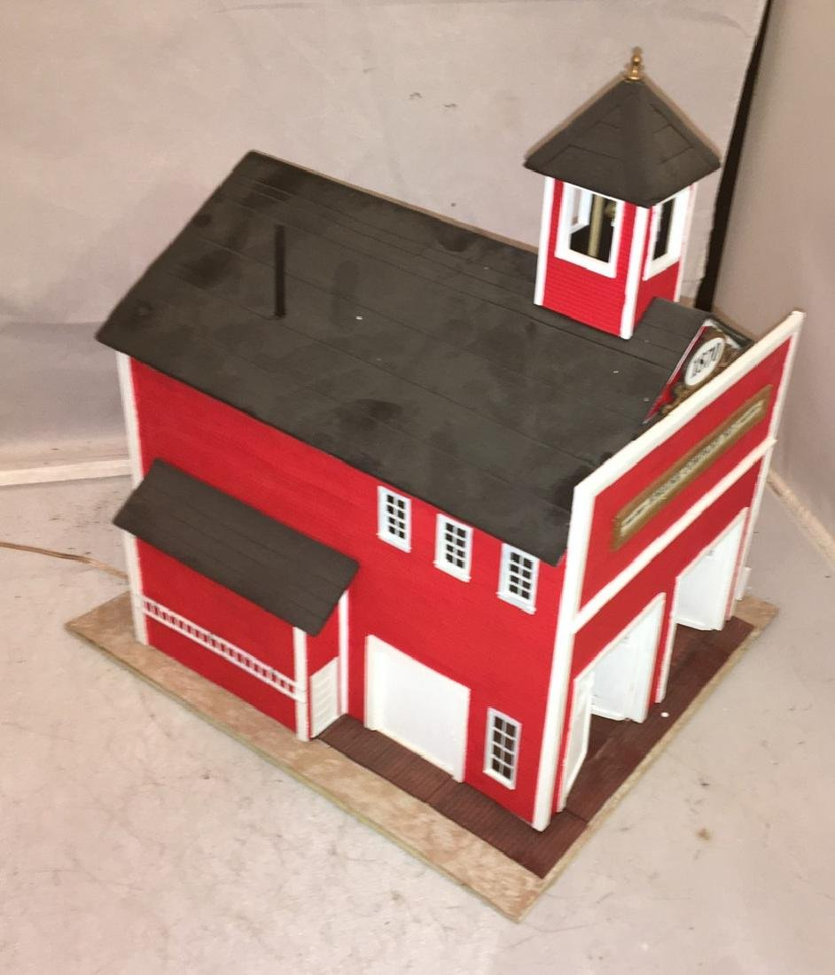 Chapman Creations O Gauge Fire house - 3